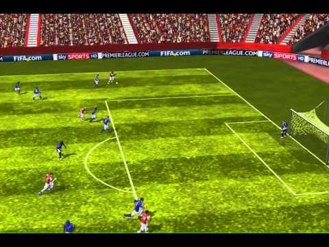 FIFA 13 iPhone/iPad - Arsenal vs. Birmingham City