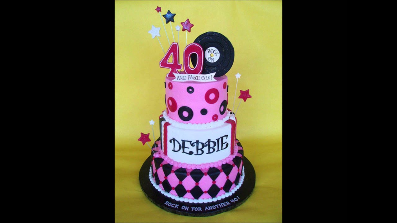 40th birthday cake cupcake ideas of reference 117741 40th for 40th birthday cake decoration