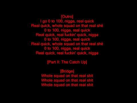 Übersetzung 0 To 100  The Catch Up Songtext auf Deutsch