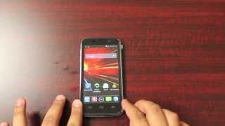 New Cricket ZTE Source Unboxing And Review