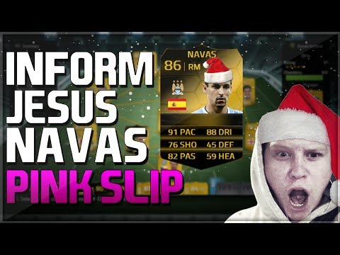 FIFA 14 ULTIMATE TEAM | IF JESUS NAVAS PINK SLIPS! | Ultimate Team Live!
