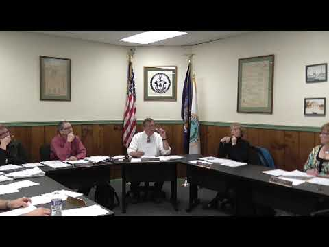 Champlain Village Board Meeting 11-4-13