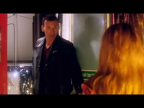 Eccleston's First Appearance on Doctor Who,