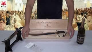 Сабля для открытия шампанского Fox