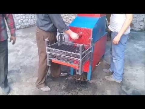 Linyit ve Odun kömürü tozunu sıkıştırma makinası