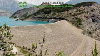 Roadbook moto - Le Lac de Serre Ponçon