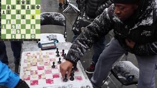 CHESS HUSTLER vs. CHESS HUSTLER - NYC Chess Hustling 3