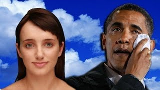 EVIE DOESN'T LIKE THE PRESIDENT | Cleverbot Evie