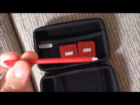 Kit de Acessórios Tech Dealer para 3DS XL e DSi XL 9822 - Vermelho Unboxing (PT-BR)