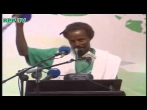 Gabay Af Somali AH lors du 11ème Congrès Ordinaire du RPP qui s'est tenue au Palais du Peuple le 5 M