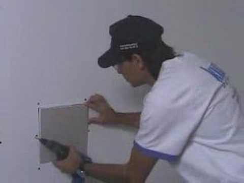 Knauf - jak naprawić płytę gipsową