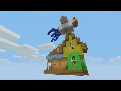 Minecraft Xbox - Quest To Find The Floating House  (8)