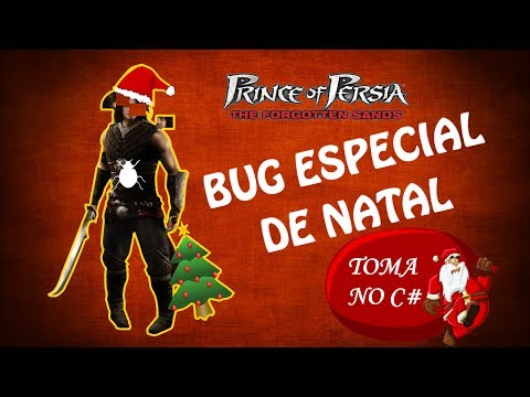 Prince Of Persia The Forgotten Sands - Bug especial de natal