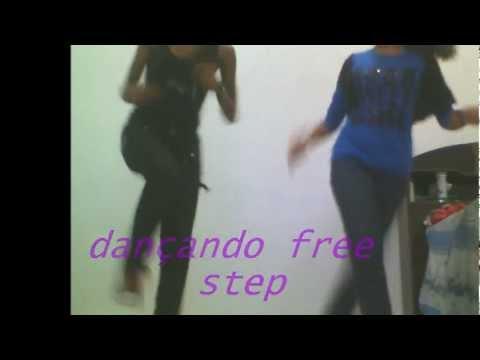 meninas dançando free step