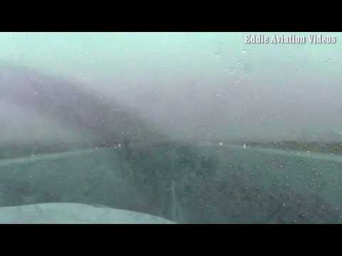 Landing with low Instrument Meteorological Conditions