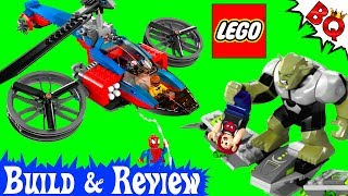 LEGO Spider-Man Spider Helicopter Rescue 76016 Marvel