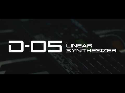 Roland D-05 Linear Synthesizer Boutique Sound Module