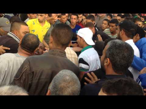 أولاد تايمة:اخوان بنكيران يعتدون على معاقين رفعو شعار ارحل في وجه العتماني