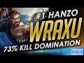 World s 1 Hanzo Wraxu INSANE 73 Kill Carry