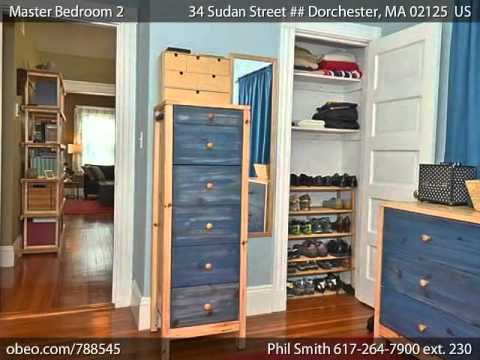 34 Sudan Street  Dorchester MA 02125 - Phil Smith - Prudential Unlimited -Brookline