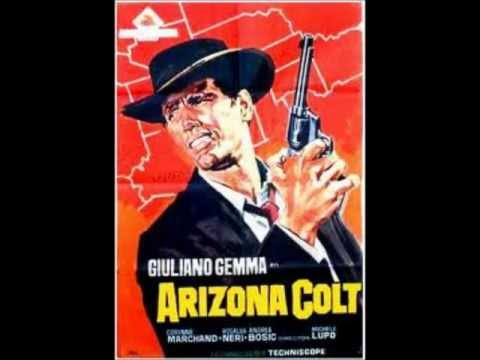 "Arizona Colt - Fransesco De Masi (1966), The theme from the soundtrack to ""Arizona Colt"" composed by Francesco De Masi. ""Arizona Colt"" is a 1966 Italian Spaghetti Western directed by Michele Lupo. Its stars Giuliano Gemma."