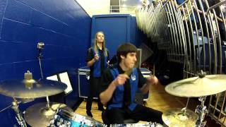 Jamming Drums With The Georgia State Basketball Band 2013