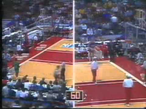 Rimas Kurtinaitis 3 point contest All Star 1989