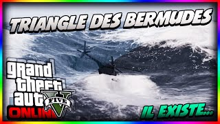 "GTA 5 Secret Easter Egg ""Le Triangle Des Bermudes"" Il"