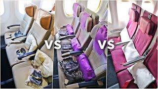 EMIRATES vs ETIHAD vs QATAR Economy Class | Which Airline Is Best?! | Economy Week