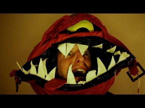 Make a Scary Bag MonsterHat