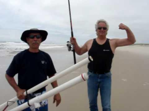 Master baiter tater launcher surf fishing bait launcher for Surf fishing nj license