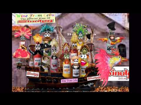 2014 Sinulog Festival!!!  Wine From Cebu