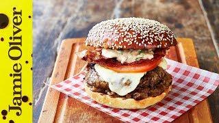 Jamie's Italian Burger | Jamie Oliver & Gennaro Contaldo