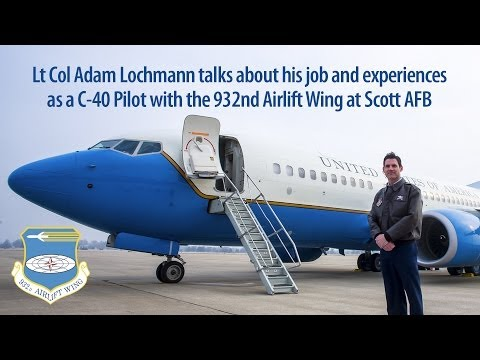 C40 Pilot: Scott Air Force Base