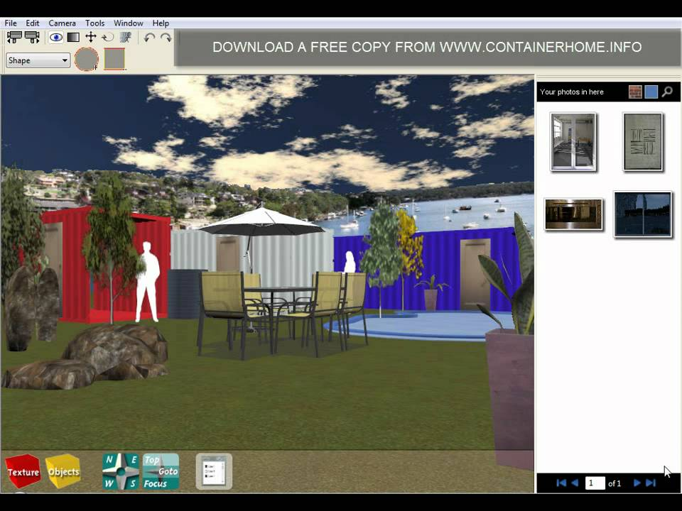 Shipping container home design software youtube for Container home design software free