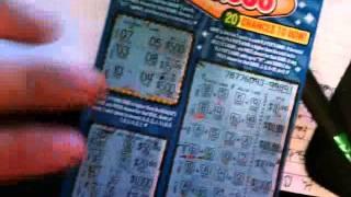 WINNING 10,000 DOLLARS ON A SCRATCH OFF