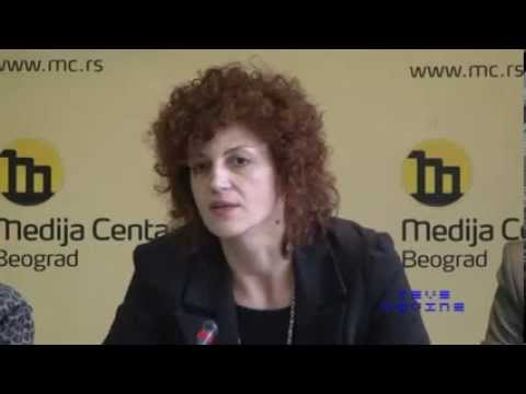 Press Conference Social Inclusion Progress and Challenge - Jasmina Mikovic