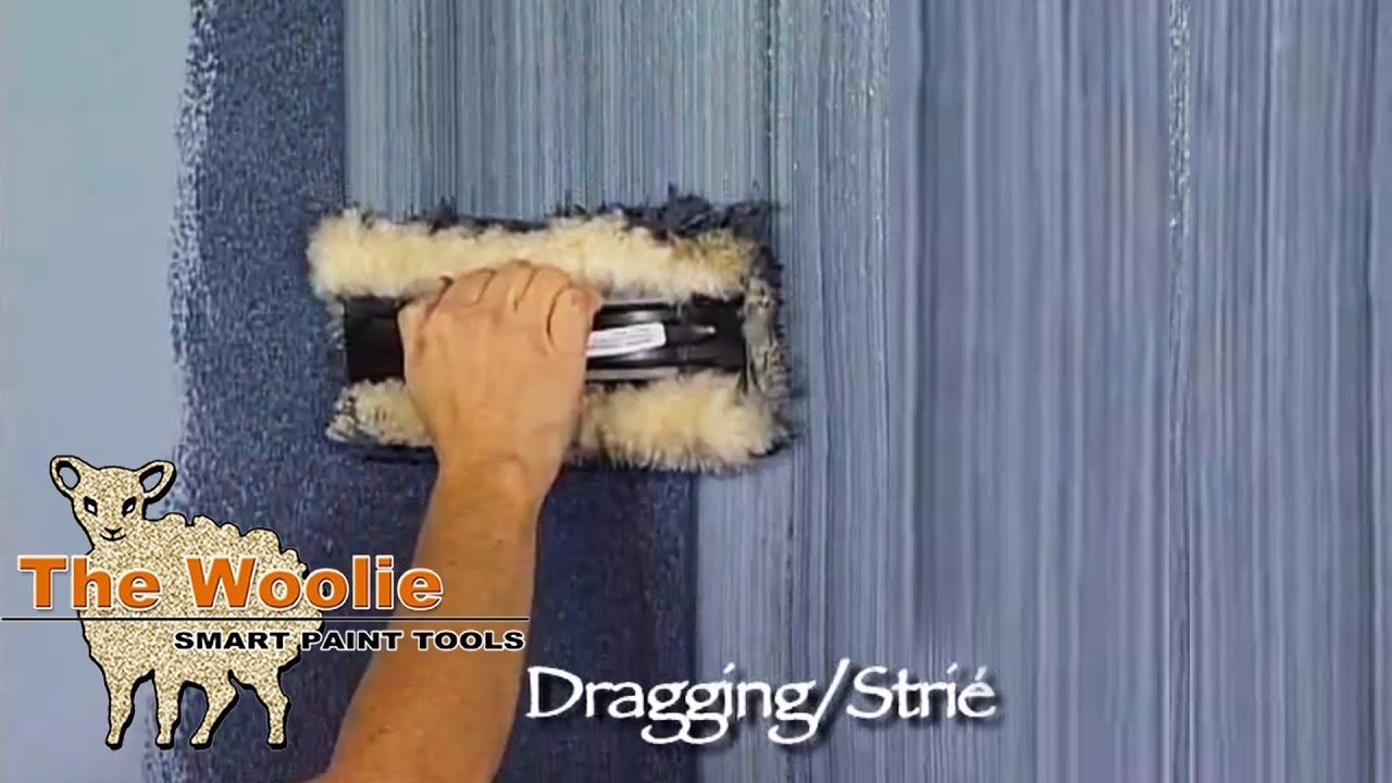 Dragging Strie How To Faux Finish Painting By The Woolie