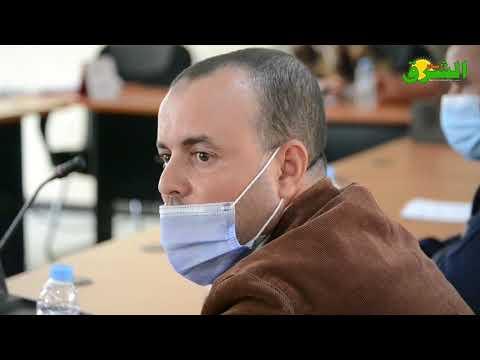 مستشار يتسائل عن سبب توقف اشغال التأهيل الحضري بالمدينة