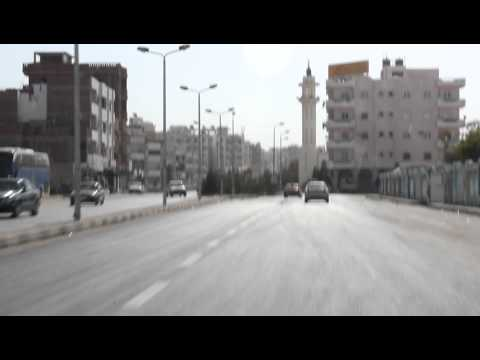 Путь в Хургаду.MOV : обстановка в египте