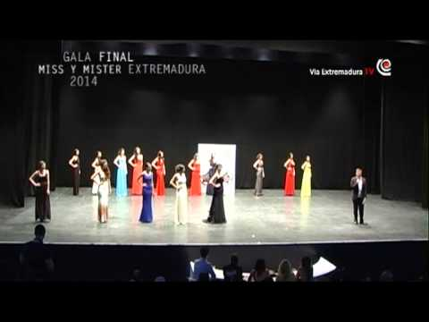 8/11 Gala final Miss World Extremadura 2014