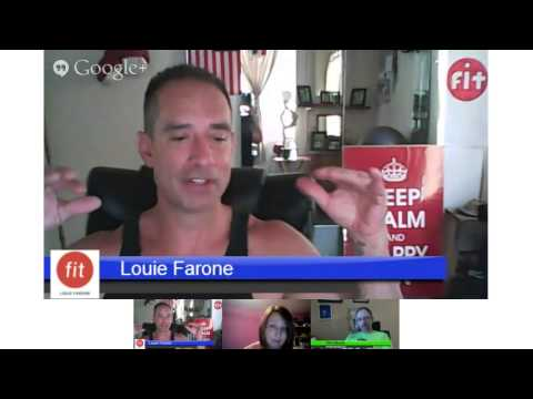 Friday Fitness Forum with fitlouiefarone