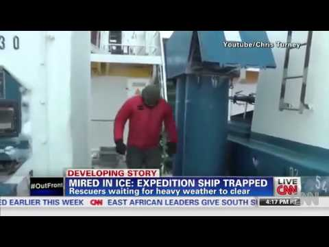 Antarctic rescue: Chinese vessel 'may now be stuck in ice BBC News(Latest News)