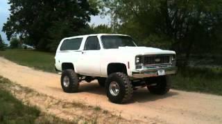 1974 Chevrolet K5 Blazer On 36s (THUNDER)
