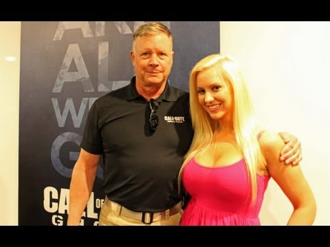 Tara Babcock meets military badass Hank Keirsey - Call of Duty interview