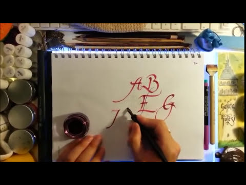 BK kaligrafi dersleri 7