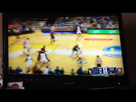 NBA 2K14 Warriors Vs Pelicans Part 1