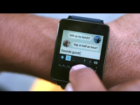 First Ever Typing On Android Wear