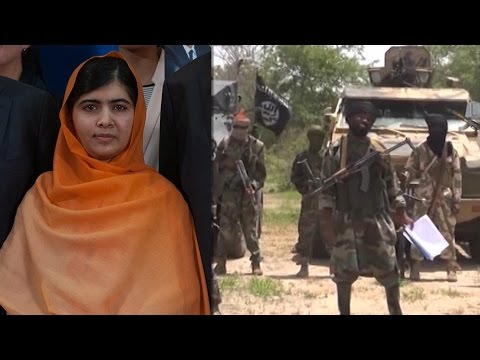Boko Haram Gives Bizarre Speech & Malala Chats With Nigeria's Pres.