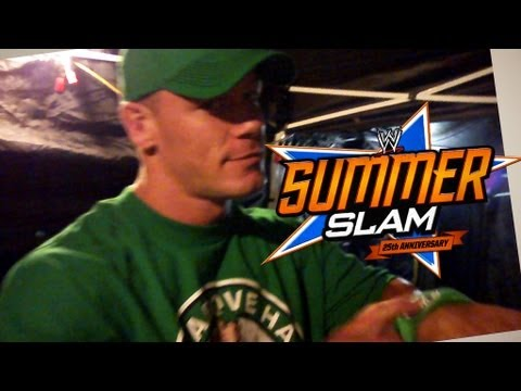 WWE Summerslam 2012 Music Video, WWE Superstars and Divas are getting excited for the Biggest Event of The Summer! WWE SUMMERSLAM! Live from The Staples Center in Los Angeles, California - S...
